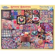 "White Mountain 1000-Pieces Jigsaw Puzzle, 24"" x 30"", Granny Squares"