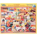 White Mountain 1000-Pieces Jigsaw Puzzle, 24in. x 30in., TV Dinners