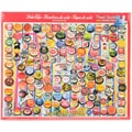 White Mountain 1000-Pieces Jigsaw Puzzle, 24in. x 30in., Soda Caps
