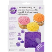 Wilton® 14 Piece Flowers Cupcake Decorating Set