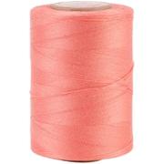 YLI Corporation Star Mercerized 3 Ply Solids Cotton Thread, 1200 Yds, Flamingo