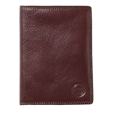 Club Rochelier Passport Holder, Mahogany