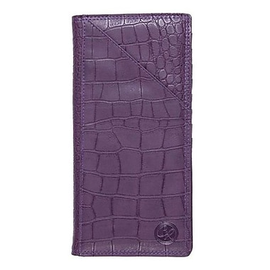 Club Rochelier Ticket Wallet, Purple