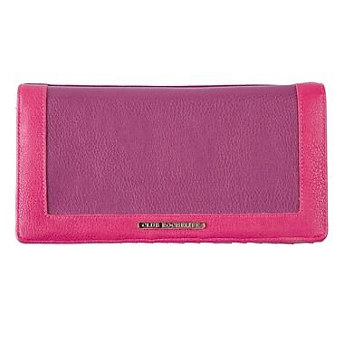 Club Rochelier Ticket Wallet With Pen Loop, Purple