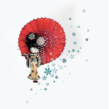 Ketto Wall Decor, Geisha
