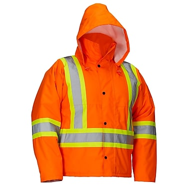 Forcefield Safety Driver's Jacket, Lime, Large