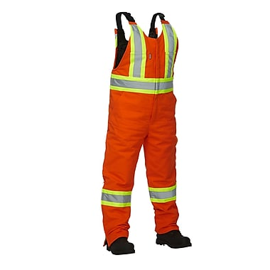 Forcefield Lined Safety Overall, Orange, Medium