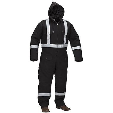 Forcefield Lined Coverall, Black, 3XL