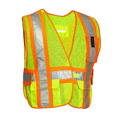 Forcefield Econo 5 Point Vest, Orange, One Size