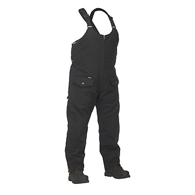 Forcefield Lined Canvas Coverall, Black