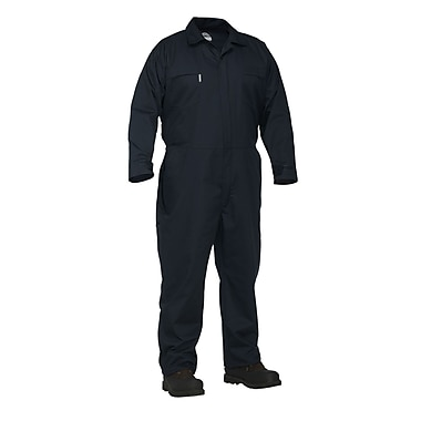 Forcefield Twill Work Coverall, Navy, Medium