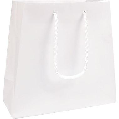 Trapezoid Eurotote, White, 9/7
