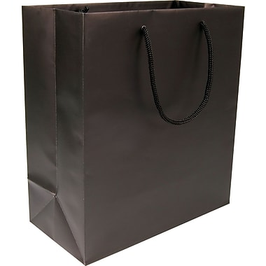 Gunther Mele Ltd. Eurotote, Black, 100/Case