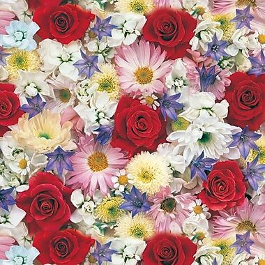 Papier d'emballage Inspirations, 24 po x 417 pi, 1 rame en rouleau, n° 6009