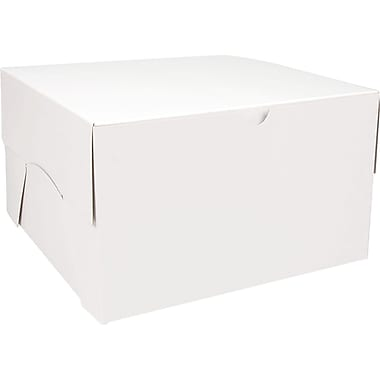 Gunther Mele Ltd. Folding Box, White, 50/Case