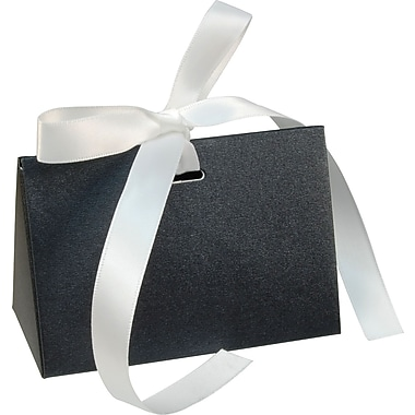 Gunther Mele Ltd. Gift Card Box with Ribbon, Black, 100/Case