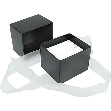 Velocity Black Jewellery Box, 2-1/2