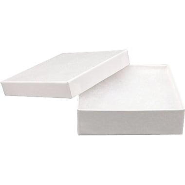 Cotton Filled Jewellery Box, 3-1/2
