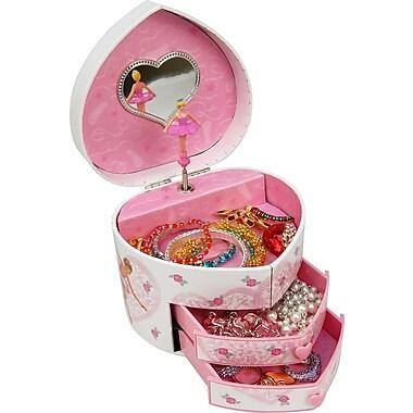 Dora Children's Jewellery Box, Pink