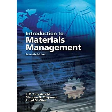 Introduction to Materials Management (7th Edition), New Book