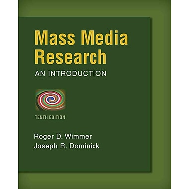 Mass Media Research, New Book