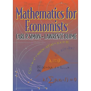 Mathematics for Economists, Used Book