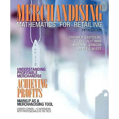 Merchandising Mathematics for Retailing, New Book