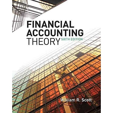 Financial Accounting Theory (6th Edition), New Book