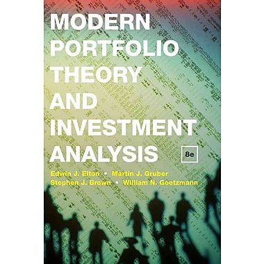 Modern Portfolio Theory and Investment Analysis (HC), Used Book
