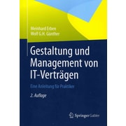 Design and management of IT contracts: A guide for practitioners