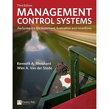 Management Control Systems: Performance Measurement, Evaluation and Incentives, Used Book