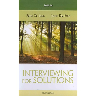 Interviewing for Solutions, New Book