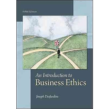 An Introduction to Business Ethics, Used Book