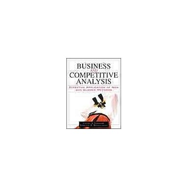Business and Competitive Analysis, New Book