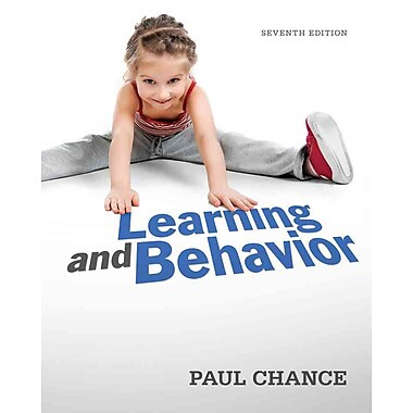 Cengage Learning® Learning and Behavior Paperback Book, Used Book