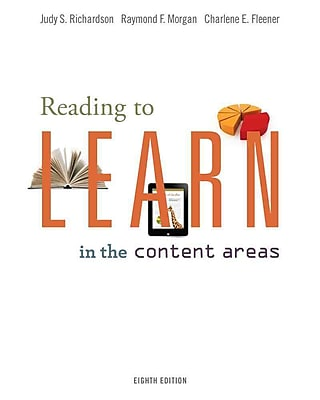 Cengage Learning Reading to Learn in the Content Areas Book 1165278
