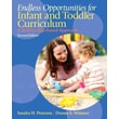 Pearson Endless Opportunities for Infant and Toddler Curriculum Book