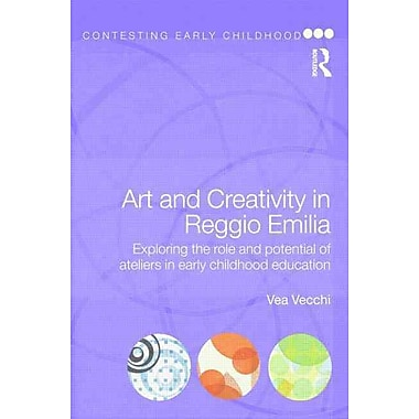 Taylor & Francis Art and Creativity in Reggio Emilia Book, New Book
