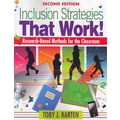 Corwin Inclusion Strategies That Work!: Research-Based Methods for the Classroom Book
