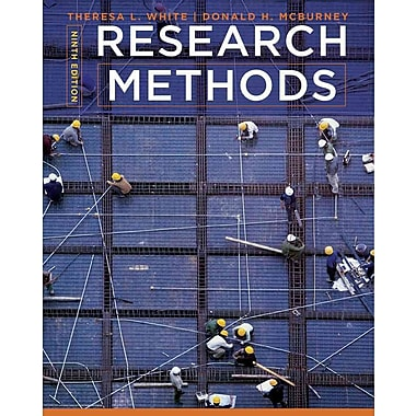 Cengage Learning® Research Methods Hardback Book, Used Book