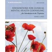 Pearson Foundations for Clinical Mental Health Counseling Book
