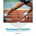 Pearson 6th Edition Measurement and Evaluation in Physical Education and Exercise Science Book