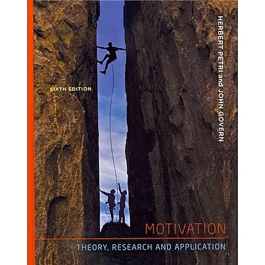 Cengage Learning® Motivation Book, Used Book