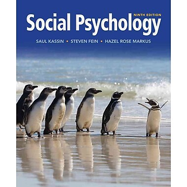 Cengage Learning® Social Psychology Hardback Book, Used Book