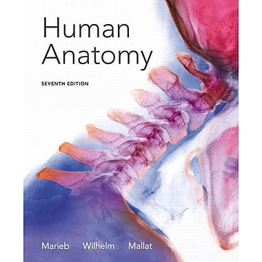 Pearson Human Anatomy Book, 7th Edition, Used Book