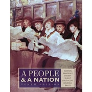 Cengage Learning® A People and a Nation Book