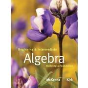 Pearson Beginning and Intermediate Algebra Book