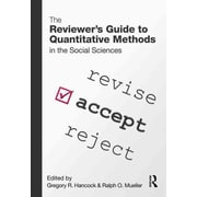 Taylor & Francis The Reviewer's Guide to Quantitative Methods in the Social Sciences Book