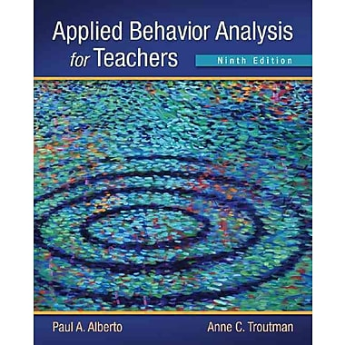 Pearson Applied Behavior Analysis for Teachers Book, New Book