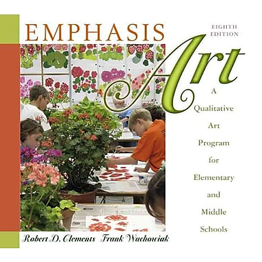 Pearson Emphasis Art: A Qualitative Art Program for Elementary and Middle Schools Book, New Book